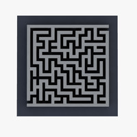 maze 3D models