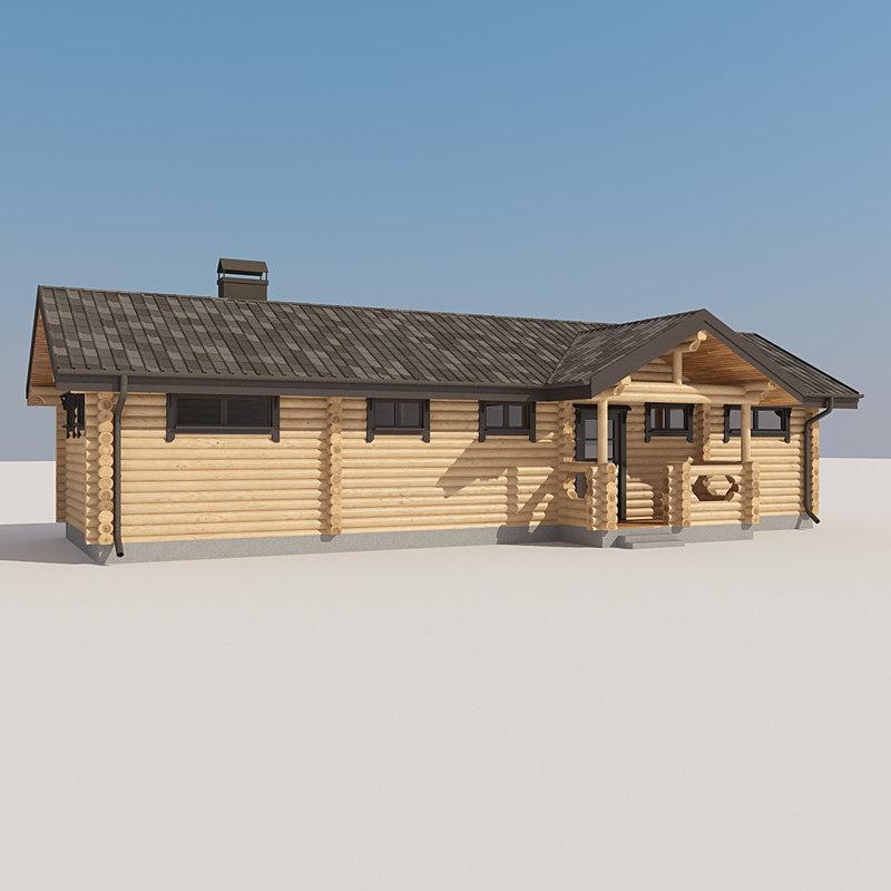 Log House LH LVD 033