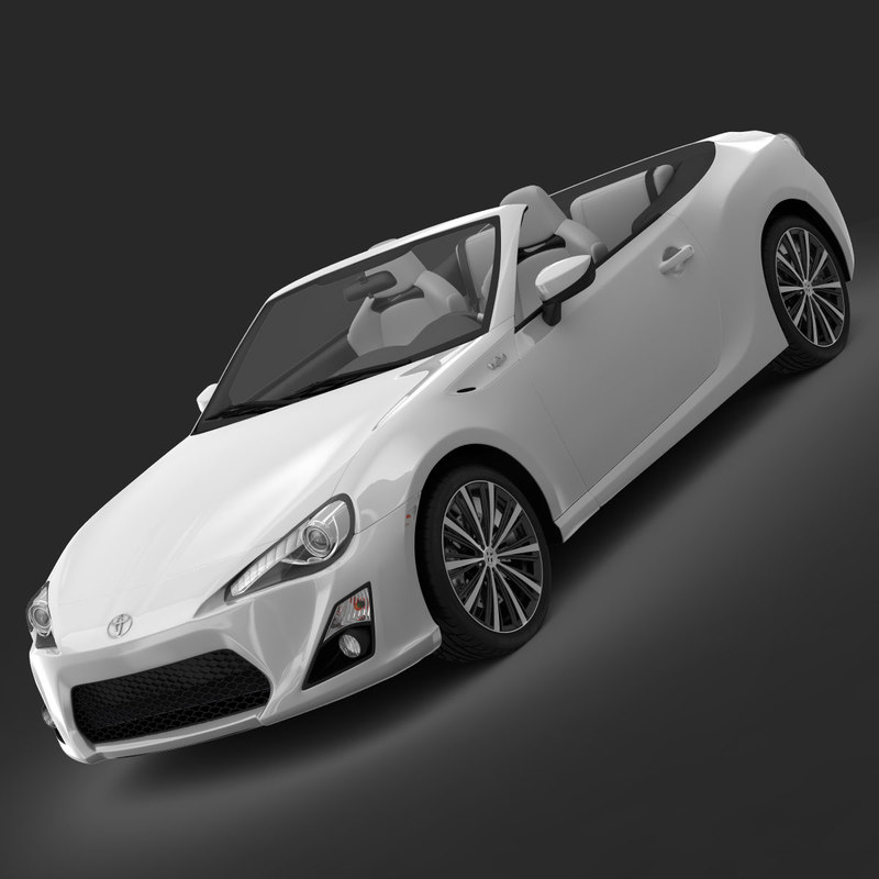 toyota ft 86 open concept 3ds