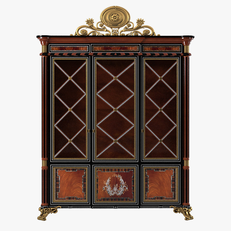 a Armando Rho A921 Cabinet showcase classic luxury vitrine cupboard  baroque glass a 9210001.jpg