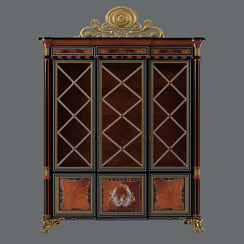 b Armando Rho A921 Cabinet showcase classic luxury vitrine cupboard  baroque glass a 9210001.jpg