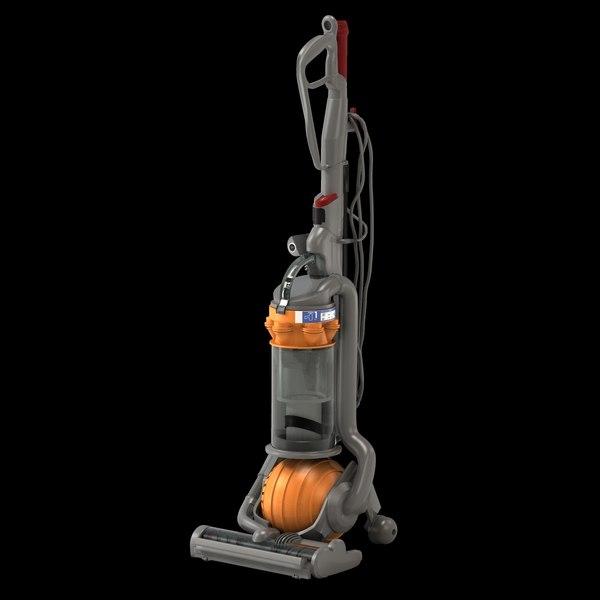 Dyson DC24 Vacuum Cleaner 3D Models
