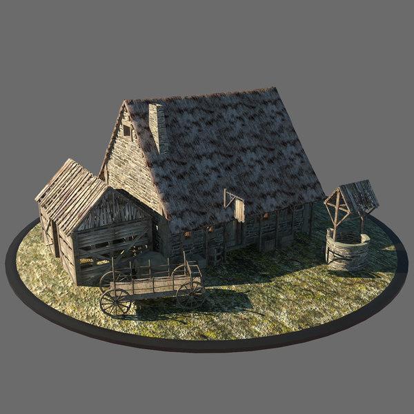 Medieval Inn 3D Models