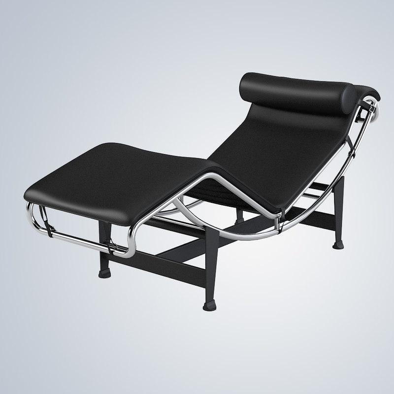max lc4 corbusier chaise lounge. Black Bedroom Furniture Sets. Home Design Ideas