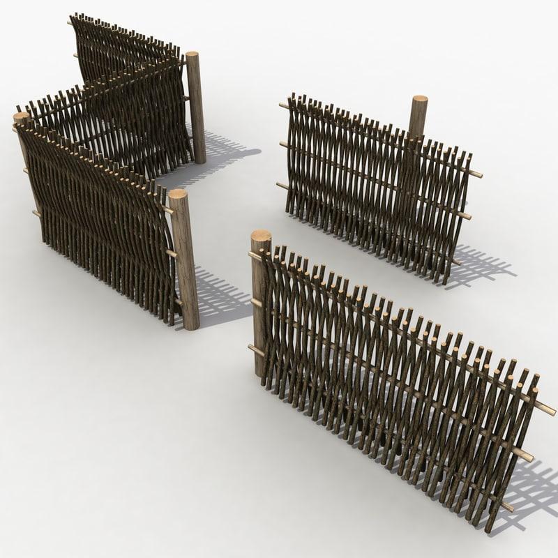 Old Wicker Fence