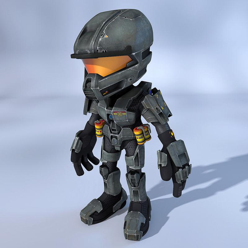 Halo Armor 3d Model | Hairrs us