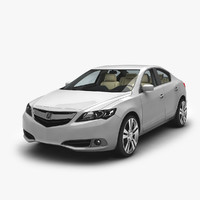 Acura ILX 3D models