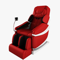 massage chair 3D models