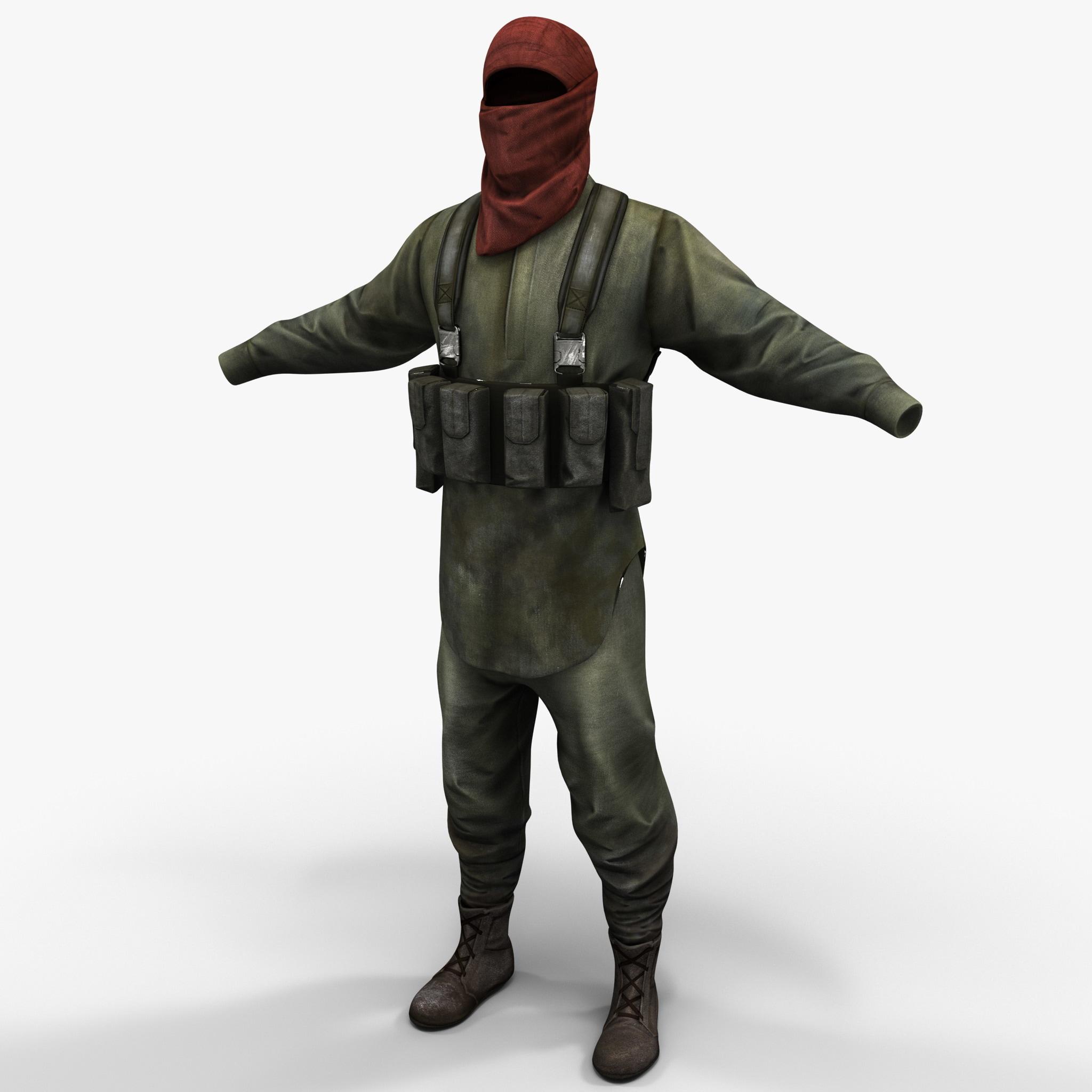 Guerrilla Soldier Clothes