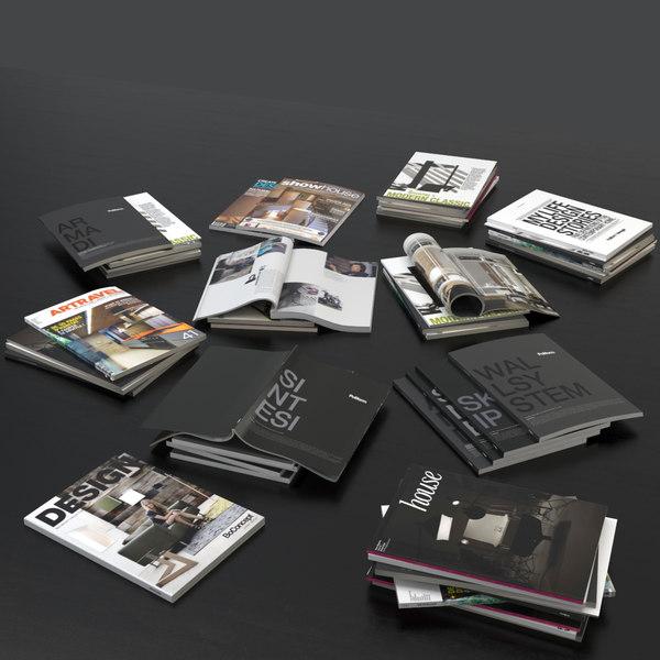 Magazines Open 3D Models
