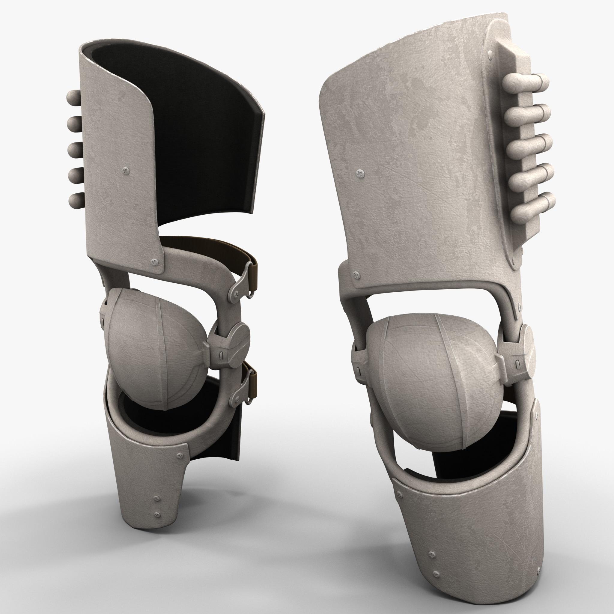 Futuristic Soldier Armor Knee Pads_2.jpg