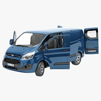 Ford transit 3D models