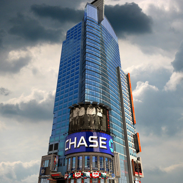 Thomson Reuters 3 Times Square 3D Models