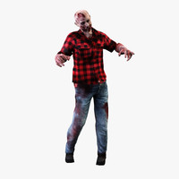 zombie 3d models