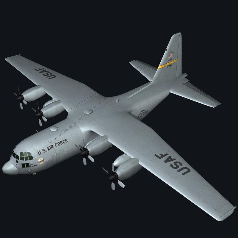 C130 Hercules Military Transport Plane