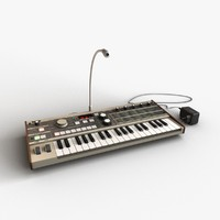 synthesizer 3D models