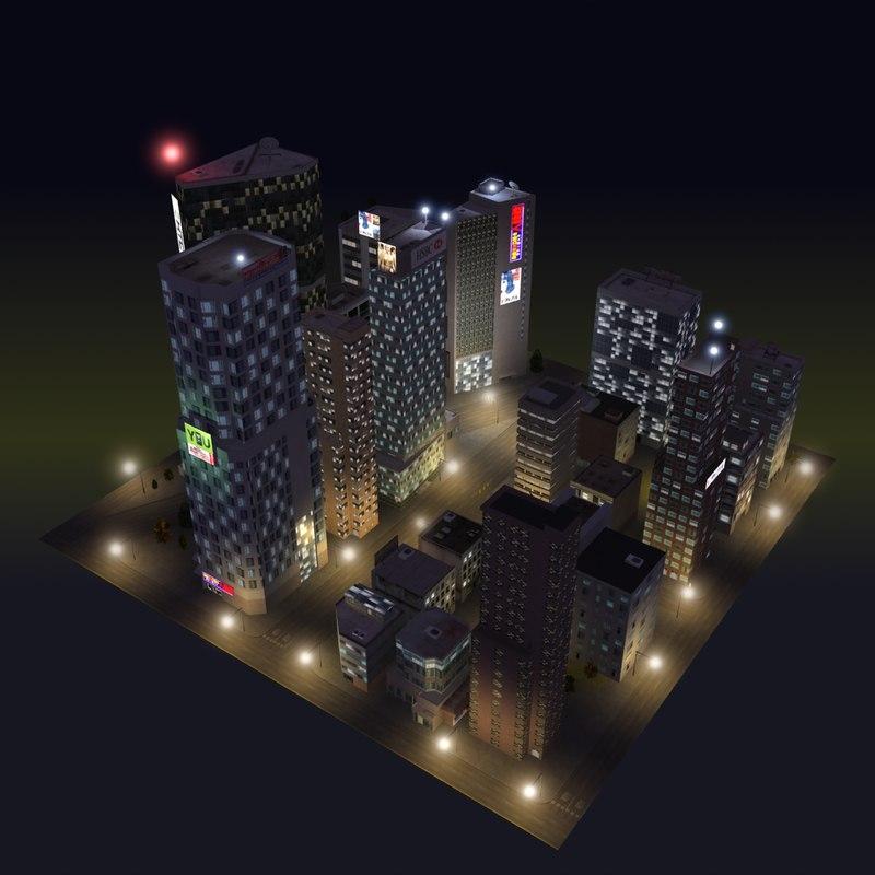 Night City Block C