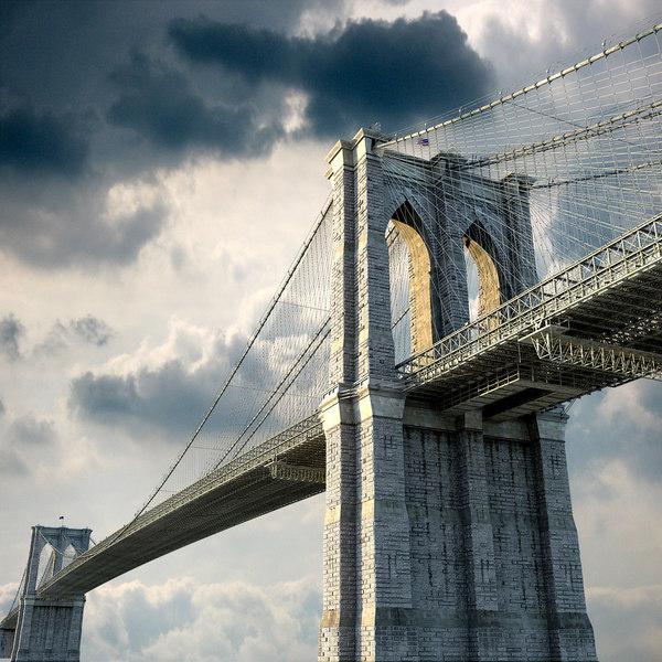Brooklyn Bridge 3D Models