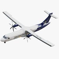 private propeller plane 3D models