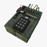 C4 3D models