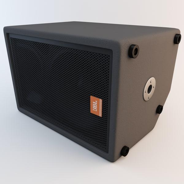 Concert Speaker JBL 2 3D Models