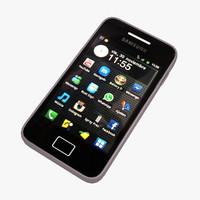 Samsung Galaxy Ace 3D models