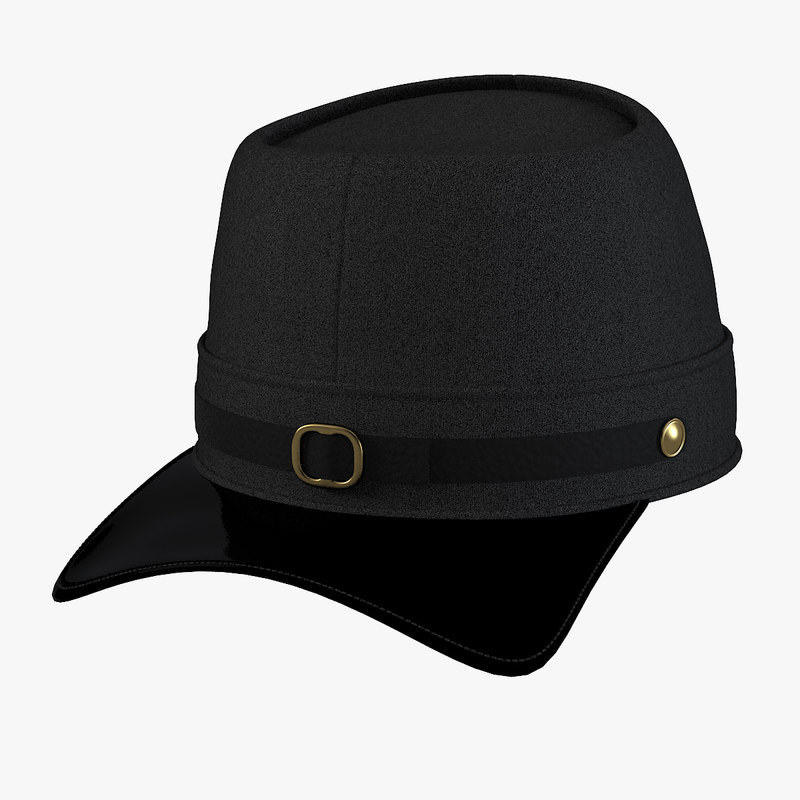 a Navy Blue Union Civil War Hat men0001.jpg
