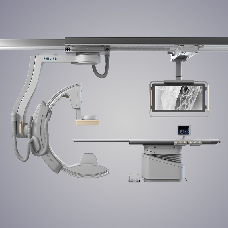 b Philips Miltidiagnost Eleva patient clinic doctor dr  intervention  x-ray radiography fluoscopy operation medical medicine equipment table hi-tech modern contemporary0001.jpg