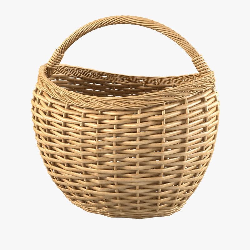 a wicker basket woven fiber rattan bin storage country container decorative decor  0001.jpg