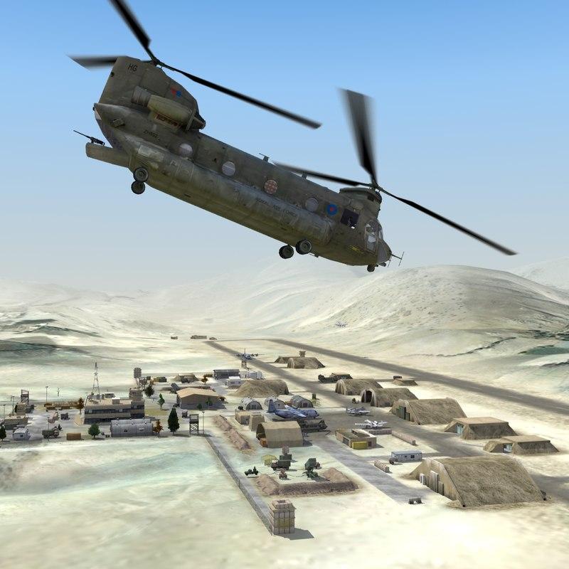 Desert Airfield