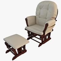 glider chair 3D models