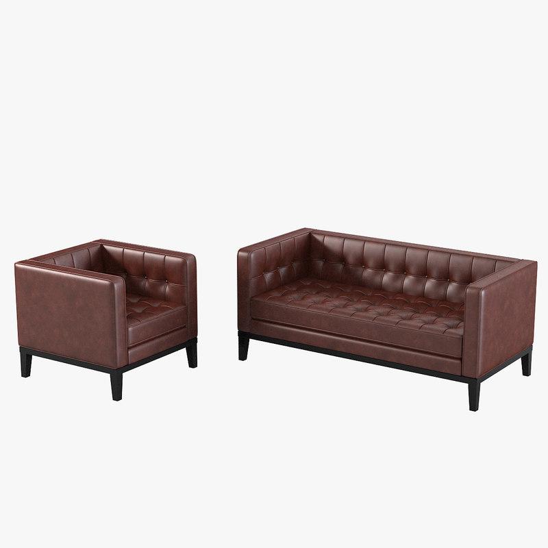 a armen living brades armchair sofa set loveseat tufted buttoned modern contemporary settee kensington collection 154428 157952 0001.jpg