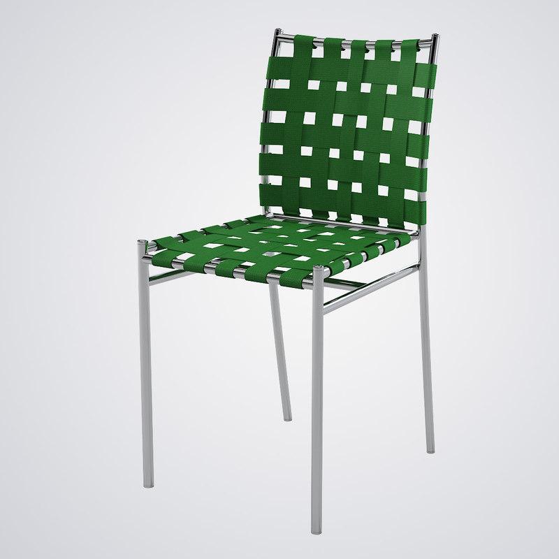 3d model alias tagliatelle outdoor chair