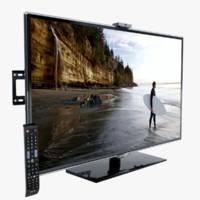 television 3d models