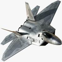 F-22 Raptor 3D models