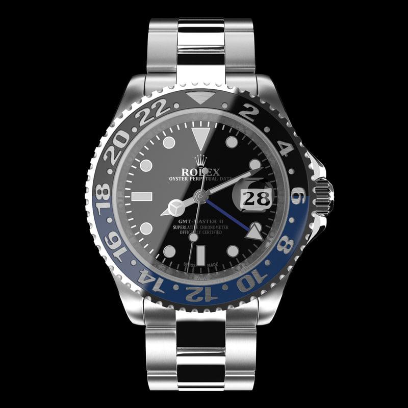 Rolex GMT-Master II Blue Black