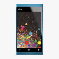 Nokia Lumia 900 3D models