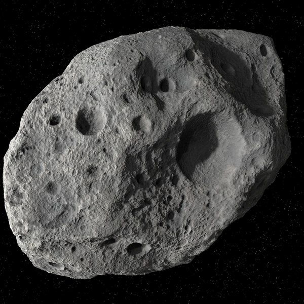 Asteroid 05 Materials & Shaders