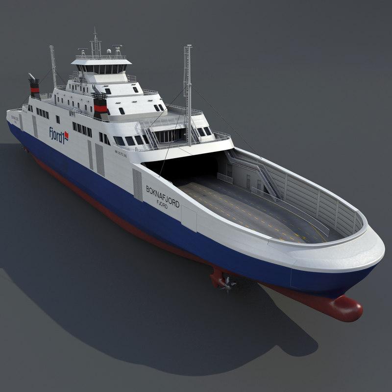 Ship LNG Ferry