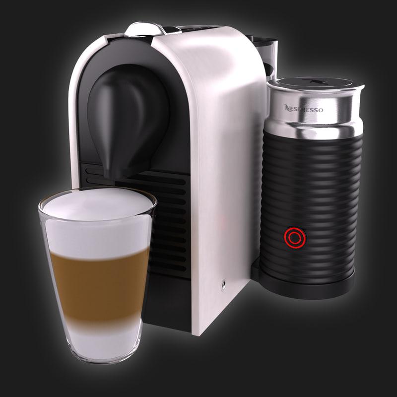 Krups Nespresso Umilk Nespresso Umilk Krups 3d 3ds