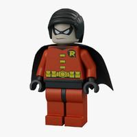 Robin 3D models