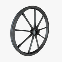 Wagon Wheel 3D models