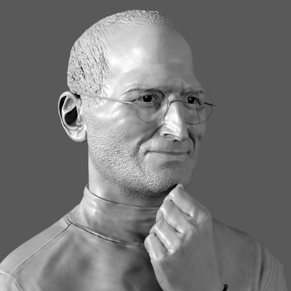 3D Steve Models Max 3ds C4d Obj Fbx