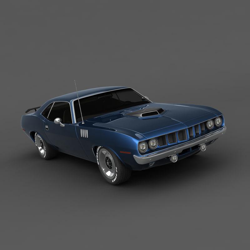Plymouth Barracuda 71