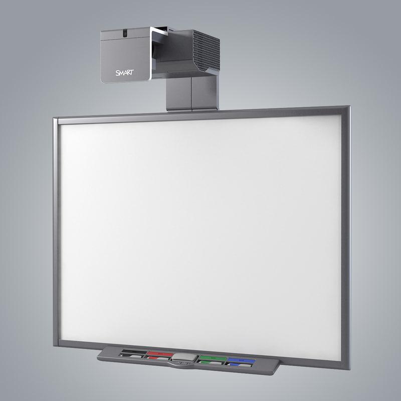 Smart Board 660 Interactive 3ds