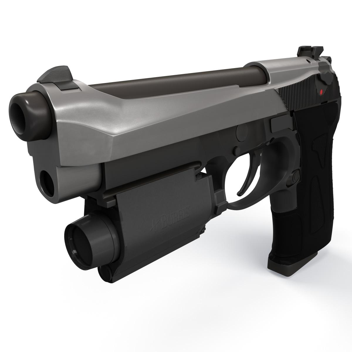 Photoreal Beretta Handgun