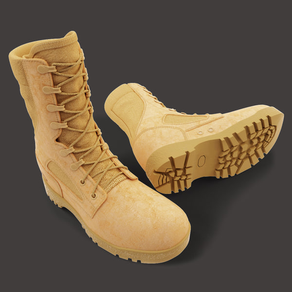 Army Boots 3D Models