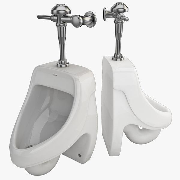 Urinal 3 3D Models