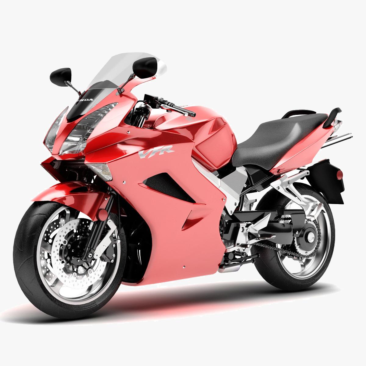 Obj Motorcycle Honda Vfr 800