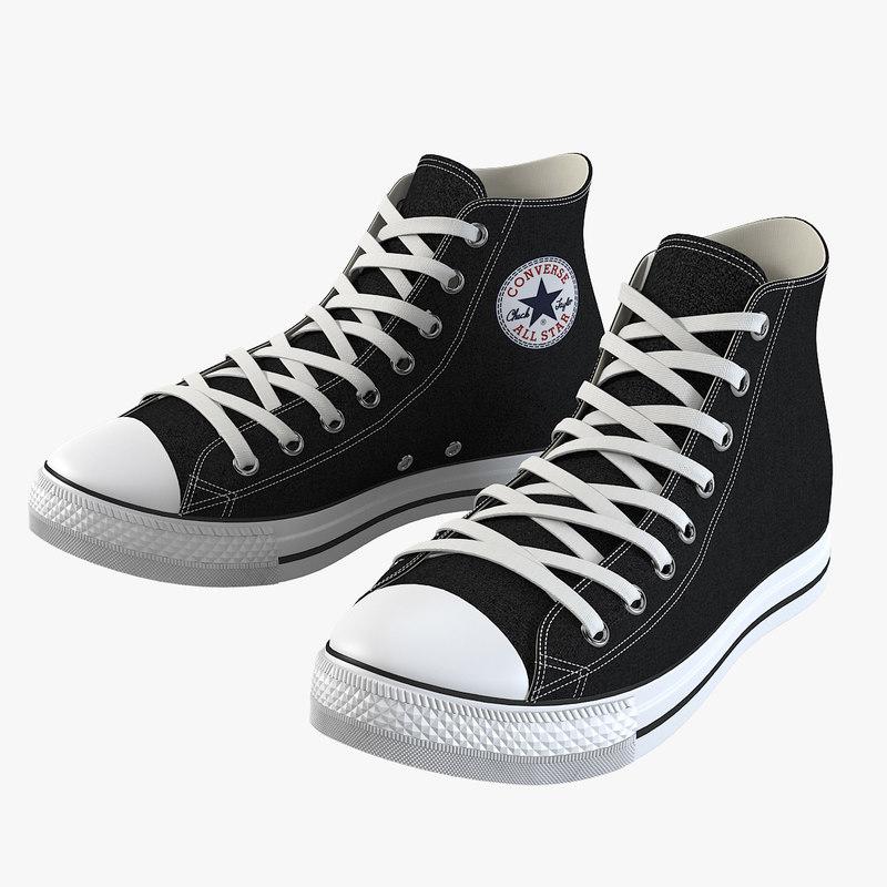 a High Top Converse All Star High Tops Clear Rubber Shoes Chuck Taylor platform sport teenager boy men  outlet  optial navy0001.jpg